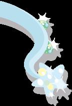 Glitter's tail